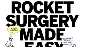4 Points of Wisdom from Steve Krug's 'Rocket Surgery Made Easy'
