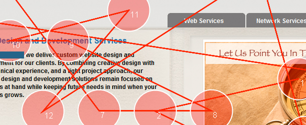 Using Feng-GUI in Determining Your Website's Critical Path