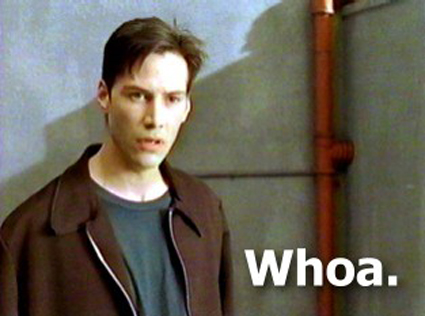 It's the POWER OF HAMMER! Keanu-reeves-whoa