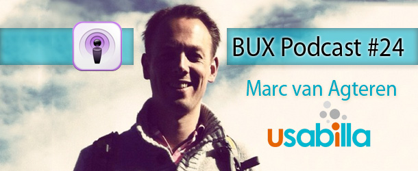 Better User Experience Podcast #24: Interview with Marc van Agteren from Usabilla