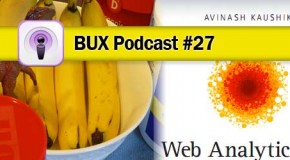 Better User Experience Podcast #27: Invision, Avinash, and a Peanut Butter Banana Smoothie