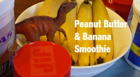 Smoothie: Peanut Butter Banana Power