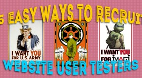 5 Easy Ways to Recruit Website User Testers