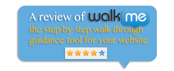 UX Tool Review: WalkMe.com