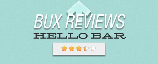 BUX Review: The Hello Bar