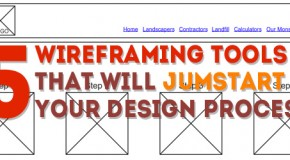 5 Wireframe Tools That Will Jumpstart Your Web Design Process