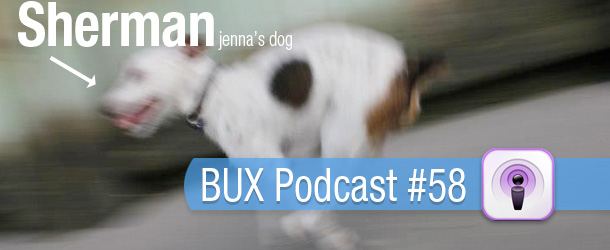 BUX Podcast #58: We Welcome Jenna Curry to BUX!