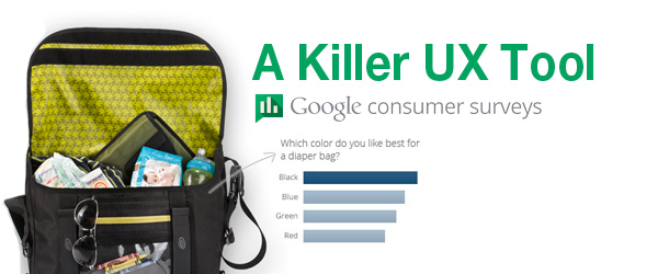 UX Killer Tool: Get Statistically Valid Data With Google Consumer Surveys