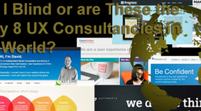 Am I Blind Or Are These The Only 8 UX Consultancies In The World?