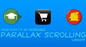 Learn, Buy, and Cheat Your Way To An Incredible Parallax Scrolling Website