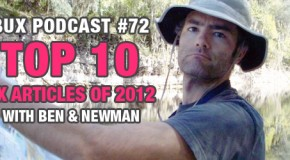 BUX Podcast #72: The Top 10 UX Articles of 2012