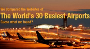 We Compared the Websites of the World's 30 Busiest Airports. Guess What We Found?