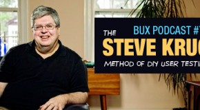 BUX Podcast #75: The Krug Method of DIY User Testing