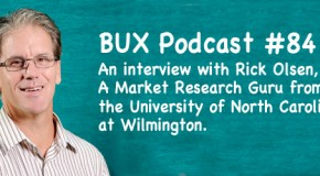 BUX Podcast 84: An Interview with Professor Rick Olsen on Research Vs. Me-Search